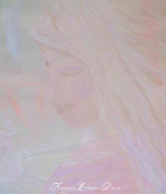 Beige Painting - Radha Krishnas Consort by Sacred  Muse