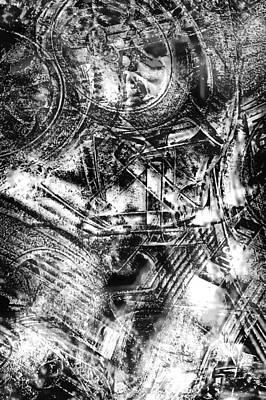 Radiance In Monochrome  Art Print by Tom Gowanlock