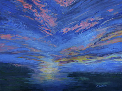 Painting - Radiance by Mary Benke
