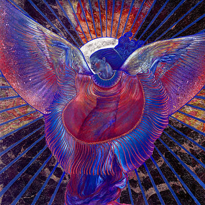 Art Print featuring the painting Radiance by Ragen Mendenhall