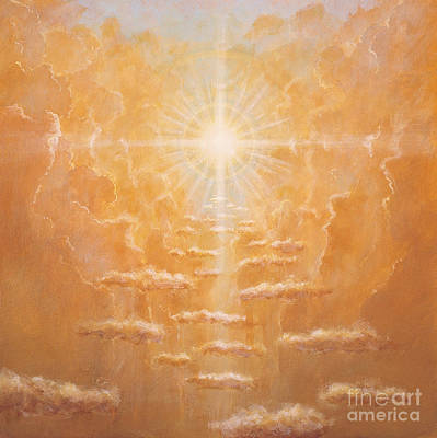 Sun Rays Painting - Radiance  by Simon Cook