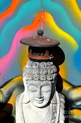 Photograph - Radiant Buddha by Anjanette Douglas