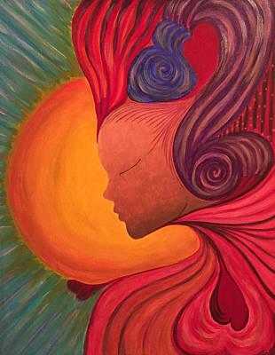 Radiant Heart Original by Tanysha Bennett-Wilson