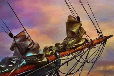 Digital Art - Radiant Old Greement by Karo Evans
