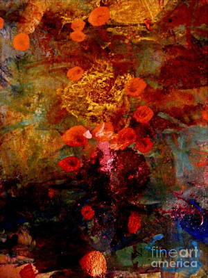Painting - Radiant Red by Nancy Kane Chapman
