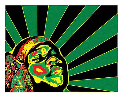 Radiant Soul  Art Print by Jasmine Harris