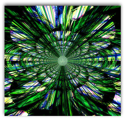 Kaleidescope Photograph - Radiant Window by Mindy Newman