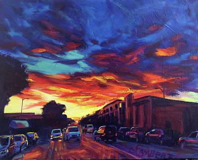 Painting - Radiate by Bonnie Lambert