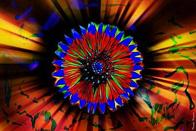Digital Art - Radiate  by Wesley Nesbitt