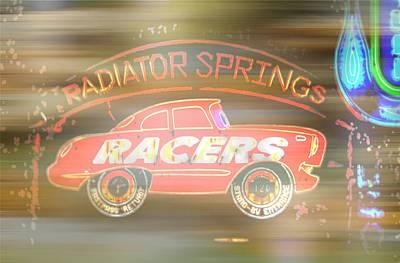 Photograph - Radiator Springs by Amanda Eberly-Kudamik