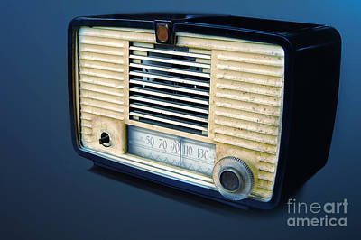 Photograph - Radio by Charuhas Images