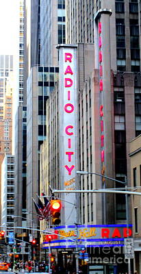 Photograph - Radio City 1 by Randall Weidner