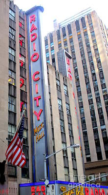 Photograph - Radio City 3 by Randall Weidner