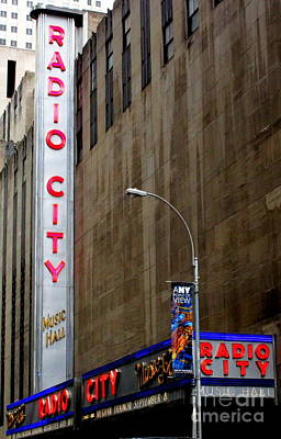 Photograph - Radio City 5 by Randall Weidner