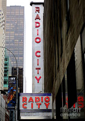 Photograph - Radio City 6 by Randall Weidner