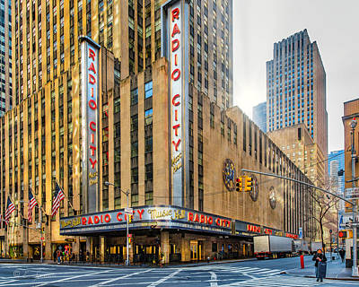 Photograph - Radio City by Erwin Spinner