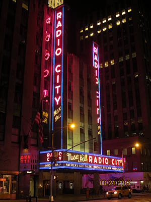 Photograph - Radio City Music Hall by Aaron Martens