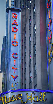 Photograph - Radio City Music Hall by Debby Richards