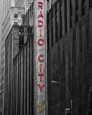 Photograph - Radio City Music Hall by Gigi Ebert