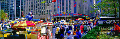 Photograph - Radio City Music Hall Lunch Soups On by Tom Jelen