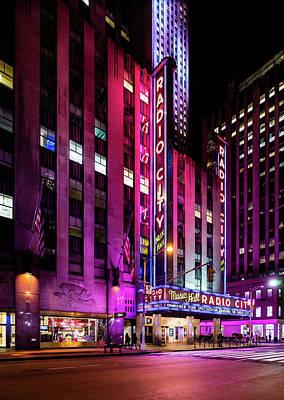 Photograph - Radio City Music Hall by M G Whittingham