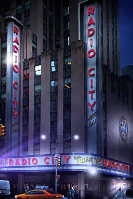 Photograph - Radio City Music Hall by Mark Andrew Thomas