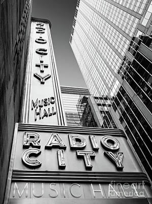 Photograph - Radio City Music Hall, New York City  #80268 by John Bald