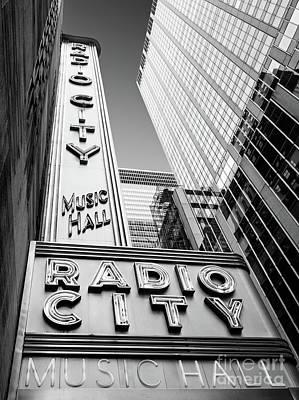 Photograph - Radio City Music Hall, New York City  #80268 by John Bald