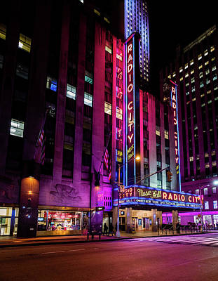Photograph - Radio City Music Hall by M G Whittingham