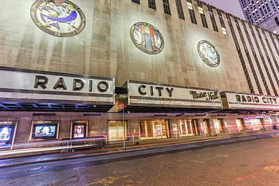 Photograph - Radio City Night by Jimmy McDonald