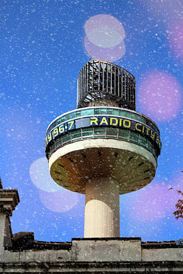 Photograph - Radio City Tower And St Johns Shopping Center In Liverpool by Doc Braham