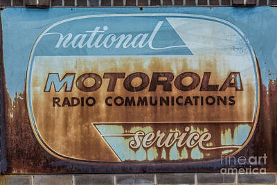 Photograph - Radio Communications by Pamela Williams