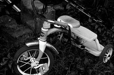 Photograph - Radio Flyer Tricycle Black And White by Lesa Fine