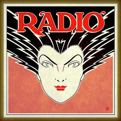 Painting - Radio by Gary Grayson
