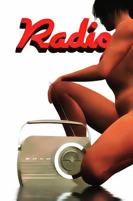 Painting - Radio by Jan Keteleer