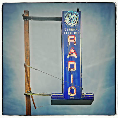 Photograph - Radio by Jerry Golab