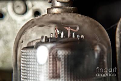 Radio Photograph - Radio Tube 2 by Pittsburgh Photo Company
