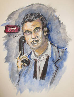 Painting - Radio's Philip Marlowe by Clyde J Kell