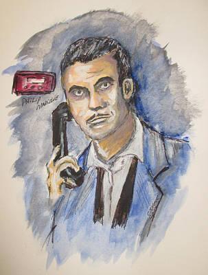 Radio's Philip Marlowe Art Print by Clyde J Kell