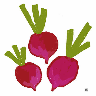 Painting - Radish by Lisa Weedn