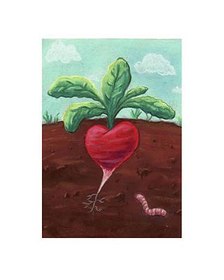 Pastel - Radish Love by Athena Lutton