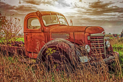 Photograph - Radley Road Truck by Trey Foerster