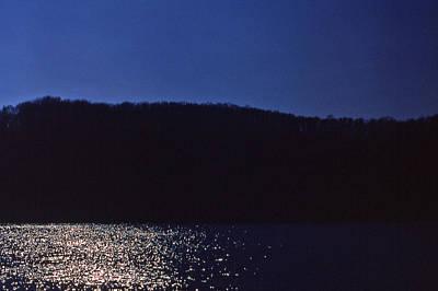 Radnor Lake Gets Dark Art Print by Randy Muir
