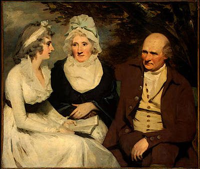 Digital Art - Raeburn Sir Henry John Johnstone Betty Johnstone And Miss Wedderburn by Sir Henry Raeburn