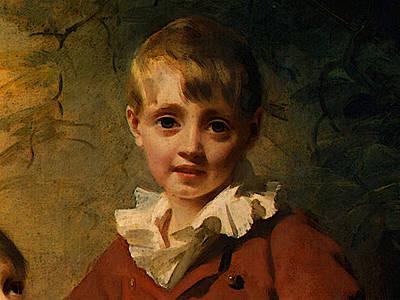 Digital Art - Raeburn Sir Henry The Binning Children Dt by Sir Henry Raeburn