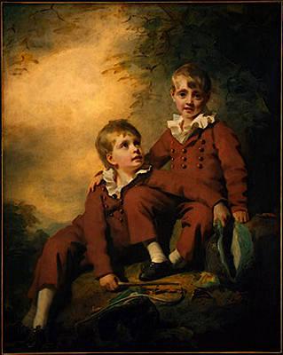 Digital Art - Raeburn Sir Henry The Binning Children by Sir Henry Raeburn