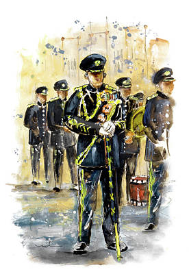 Painting - Raf Military Parade In York by Miki De Goodaboom