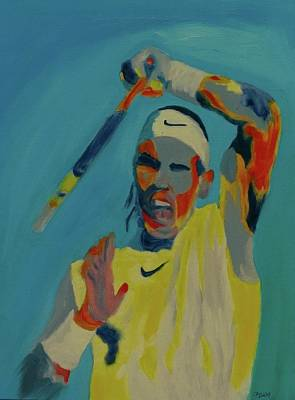 Painting - Rafael Nadal by Grace Diehl