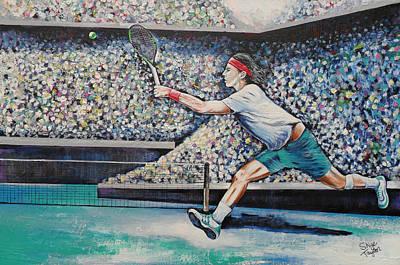 Painting - Rafael Nadel No.3 by Skye Taylor