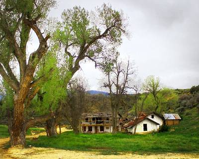 Photograph - Rafael Reyes Adobe by Timothy Bulone